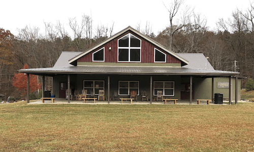Camp Montvale Cabin in Knoxville, TN.